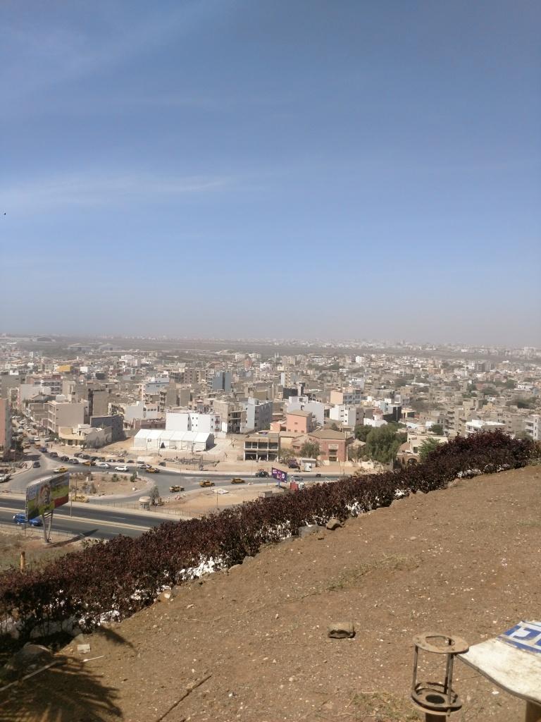 Vista dall'alto di Dakar