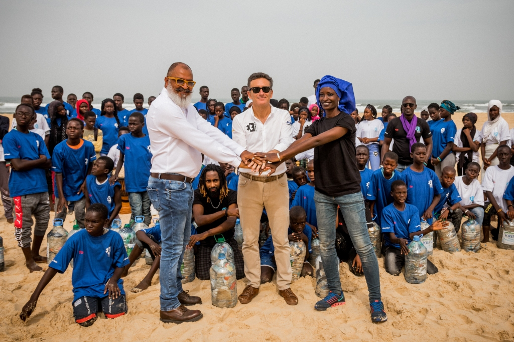 Gli organizzatori della prima tappa della Extreme E in Senegal